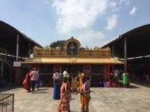 Temple as seen from Gopuram